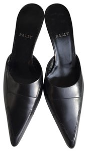 Bally Stilettos Evening / Formal Vintage Black Mules