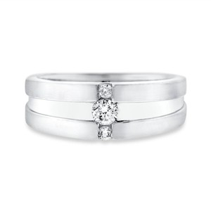Other 0.20 CT Natural Diamond Men's Wedding Band Crafted in Solid 10k White