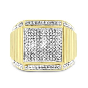 Other 0.50 Ct. Joe Rodeo Diamond Mens Ring In Solid 14k Yellow Gold