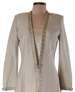 St. John ivory gold Jacket