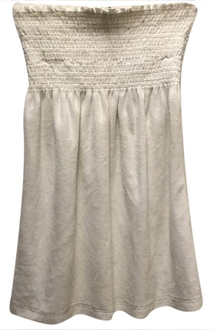 Item - White Strapless Terrycloth Cover-up/Sarong Size 8 (M)