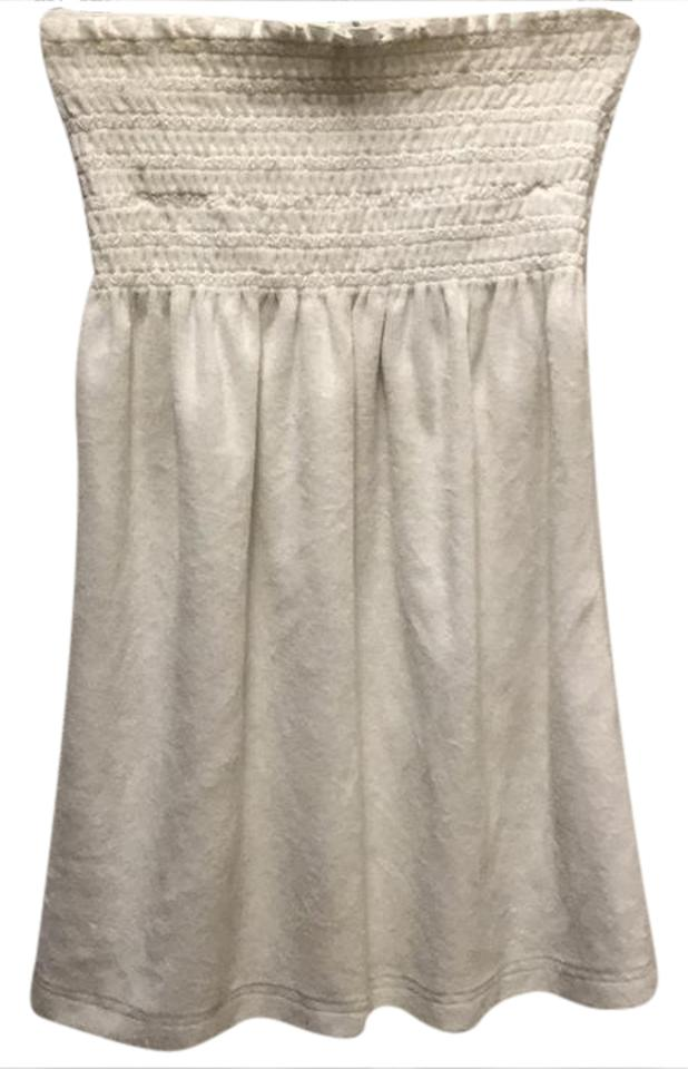 f8f43471e3 Juicy Couture White Strapless Terrycloth Cover-up/Sarong Size 8 (M ...