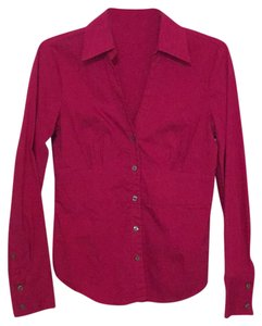 Express Button Down Shirt Fuschia