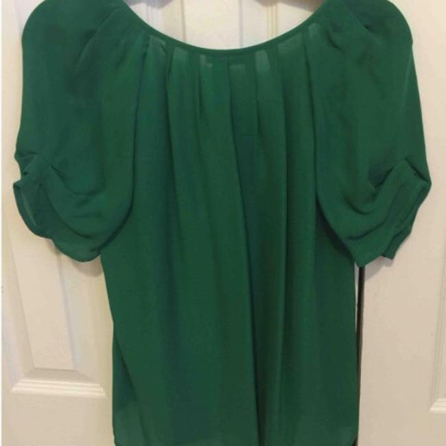 Joie green silk blouse Top green Image 1