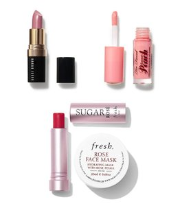 Fresh Set of luxury lipsticks and face mask Fresh Bobby brown Too faced