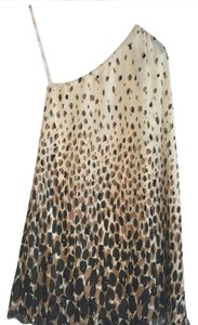 Julie Brown Party Cocktail One Leopard Dress
