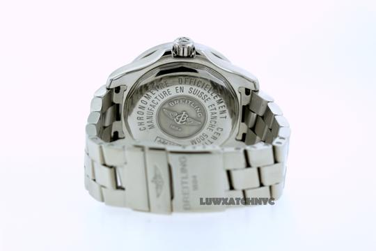 Breitling BREITLING COLT A74380 5CT DIAMOND S/S WATCH WITH APPRAISAL Image 4
