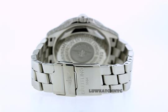 Breitling 5CT BREITLING SUPER OCEAN MODEL A17360 DIAMOND S/S WATCH Image 4