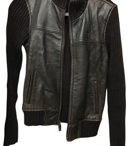 leather sweater Leather Jacket