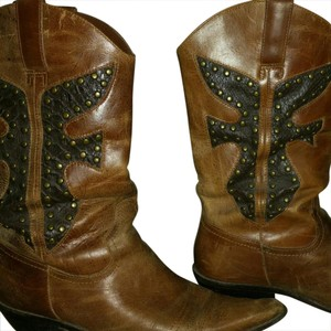 Other Brown Leather Boots