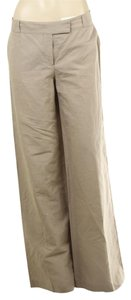 Stella McCartney Stella Casual Wide Leg Pants Tan