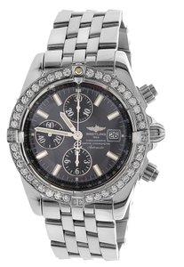 Breitling Breitling Chronomat Evolution A13356 Carat Diamond Bezel Men Watch