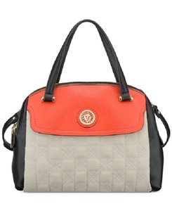 Anne Klein Ak Designer Satchel in Black, Red, White