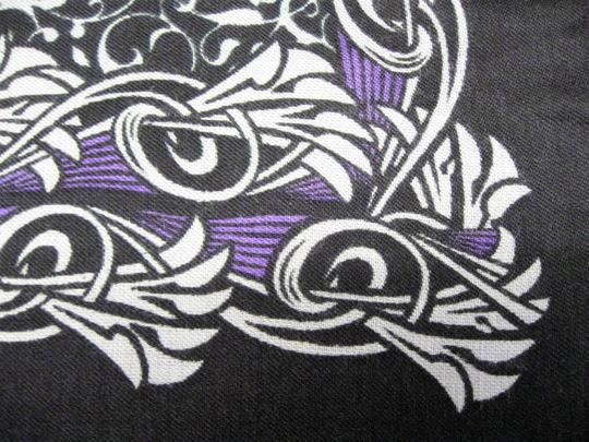Other Large Black and White Scarf Image 2