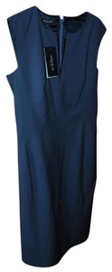 Lafayette 148 New York short dress Storm Blue on Tradesy
