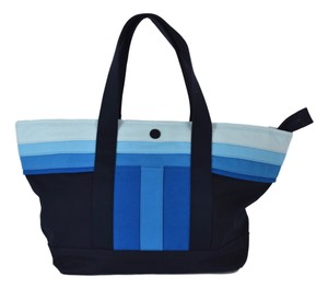 Tory Burch Striped Beach Tote in Blue