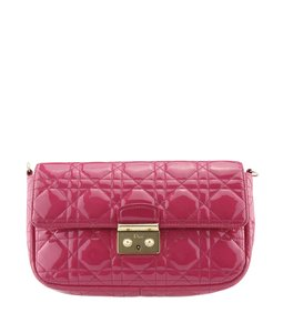 Dior Patent Leather Cross Body Bag