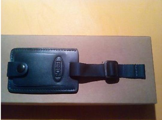 Bric's BRICS Leather Luggage Brief Secure ID Tag REPLACEMENT TAG NEW Image 1