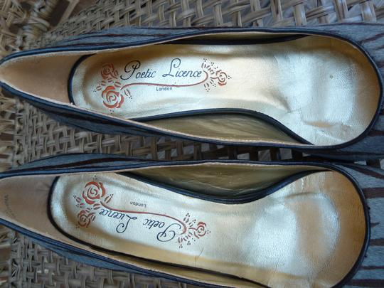Poetic License Gray and Brown Pumps Image 5