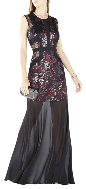 Preload https://img-static.tradesy.com/item/20773386/bcbgmaxazria-black-shawna-floral-embroidered-sequined-gown-long-night-out-dress-size-0-xs-0-1-650-650.jpg