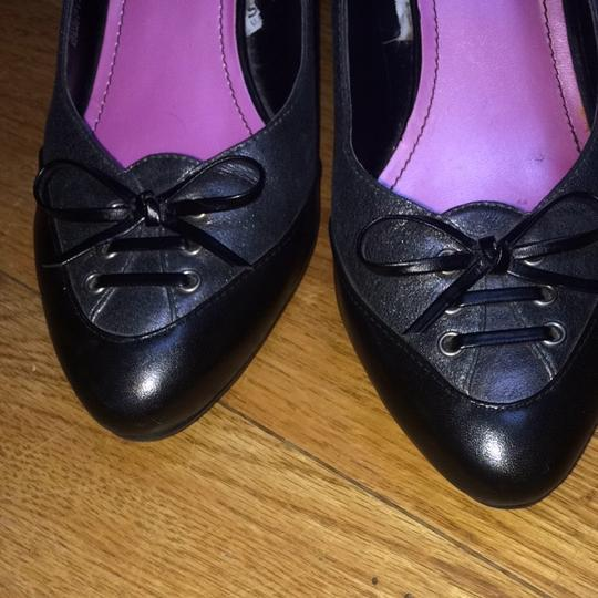 Isaac Mizrahi for Target Pewter And Black Pumps