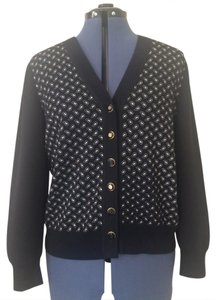 St. John Collection Paisley Wool Cardigan