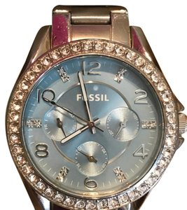 Fossil Fossil Light Blue Dial Watch
