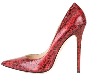 Jimmy Choo red Pumps