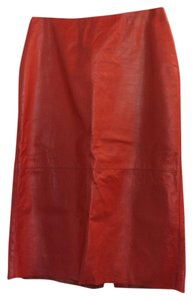 Kenneth Cole Skirt Red