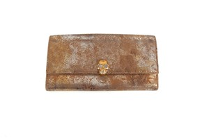 Alexander McQueen Distressed Leather