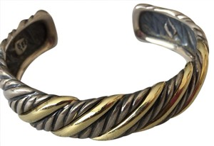 David Yurman cuff gold silver