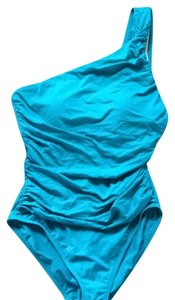 La Blanca Turquoise One Shoulder La Blanca Swim