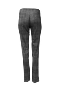 J'envie No Waistband Slim Fit Straight Pants Grey