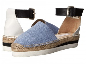 See by Chlo Espadrille Summer Denim Wedges