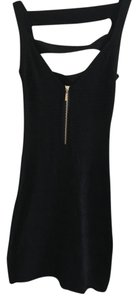 Arden B. Bodycon Little Strappy Zipper Dress