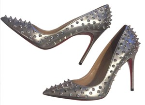 Christian Louboutin Silver and spikes are silver Pumps