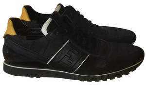 Fendi Sneakers Men's Men's Trainers Trainers Black Athletic