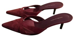 Banana Republic Maroon Leather Pumps