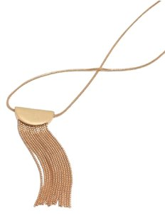 Madewell NWT Nocturnal Fringe Necklace