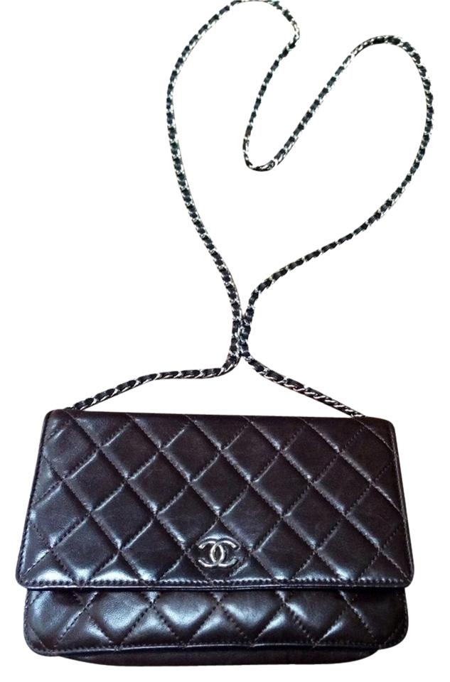 7b474724db Chanel Wallet on Chain Woc Brown Lambskin Cross Body Bag 29% off retail