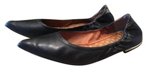 Sam Edelman Pointed Toe Leather Black leather Flats