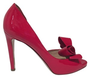 Valentino Bow Heels Heels Red Pumps
