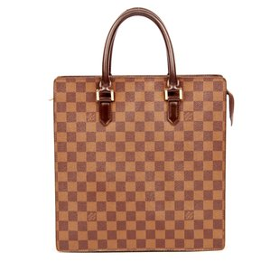 Louis Vuitton Damier Canvas Venice Pm Laptop Luggage Tote in Ebene