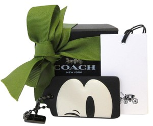 Coach DISNEY X COACH WINKING MICKEY HANG TAG KEY CHAIN & BOX 54092 NWT