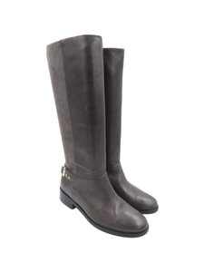 Cole Haan Leather Tall Grey Boots