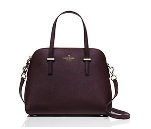 Kate Spade Tote Maise Satchel in Mulled wine mahogany