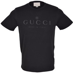 Gucci Tee Men's Shirt T Shirt Black