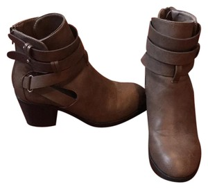 Charlotte Russe brown/grey Boots