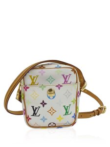 Louis Vuitton Murakami Coated Canvas Cross Body Bag