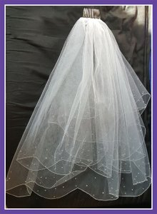Elbow-length Wedding Veil